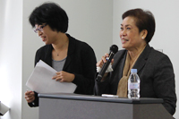 Hirakawa Sachiko and Dr. Carolina G. Hernandez