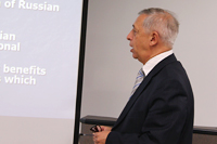 Pavel Minakir, Director, Economic Research Institute, Russian Academy of Sciences Far Eastern Branch, Khabarovsk
